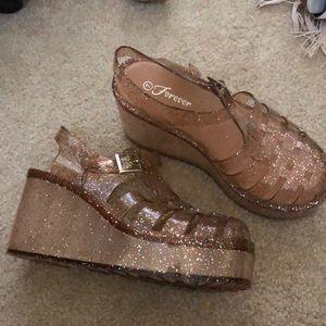 Shoes - Platform Gellies
